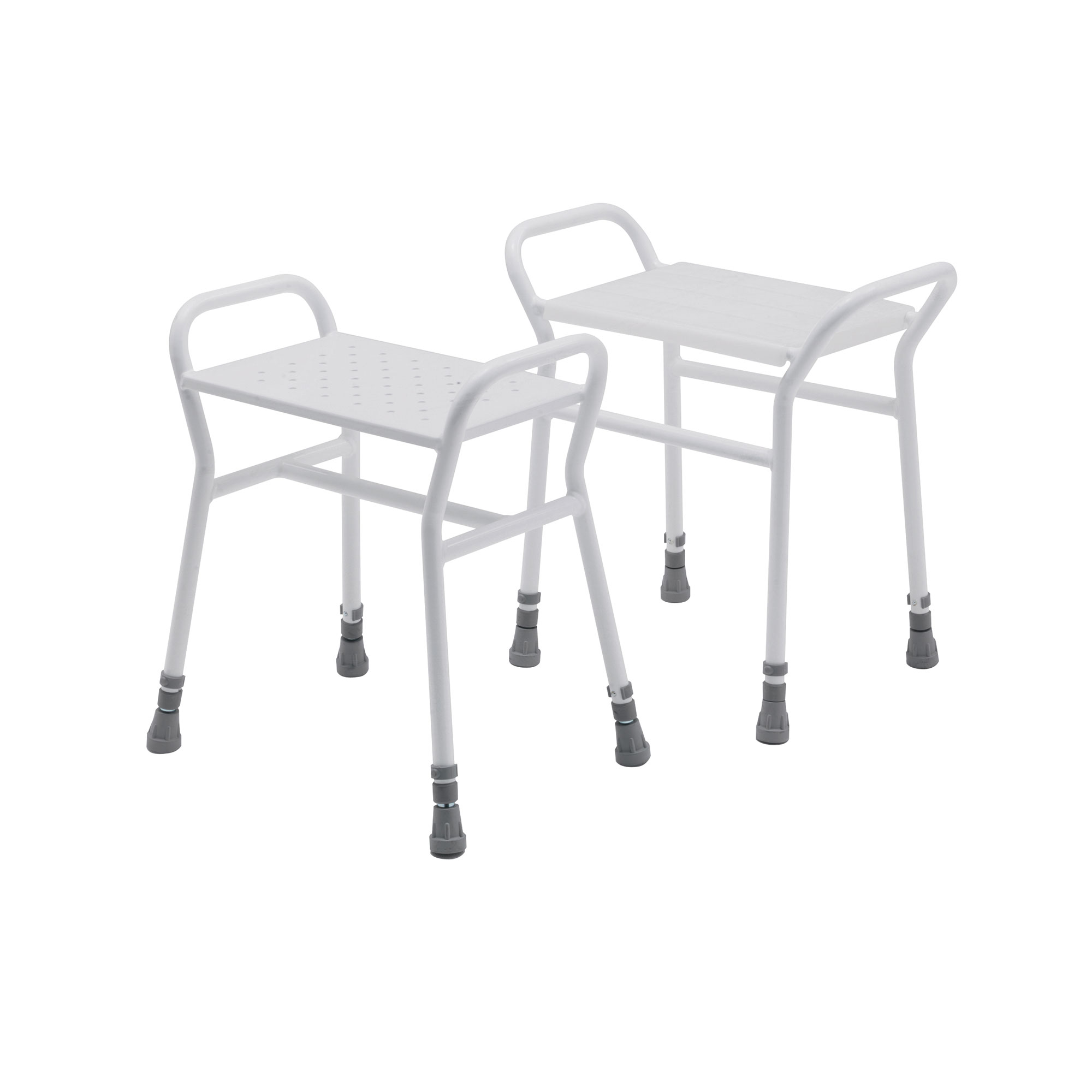Belmont Adjustable Shower Stool with Metal Seat – Concept Mobility ...